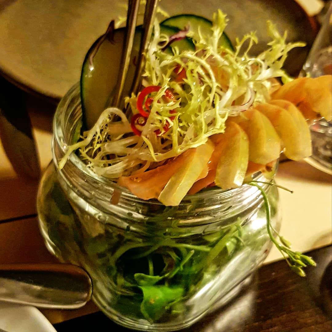 Salada verde Comidinha saudável