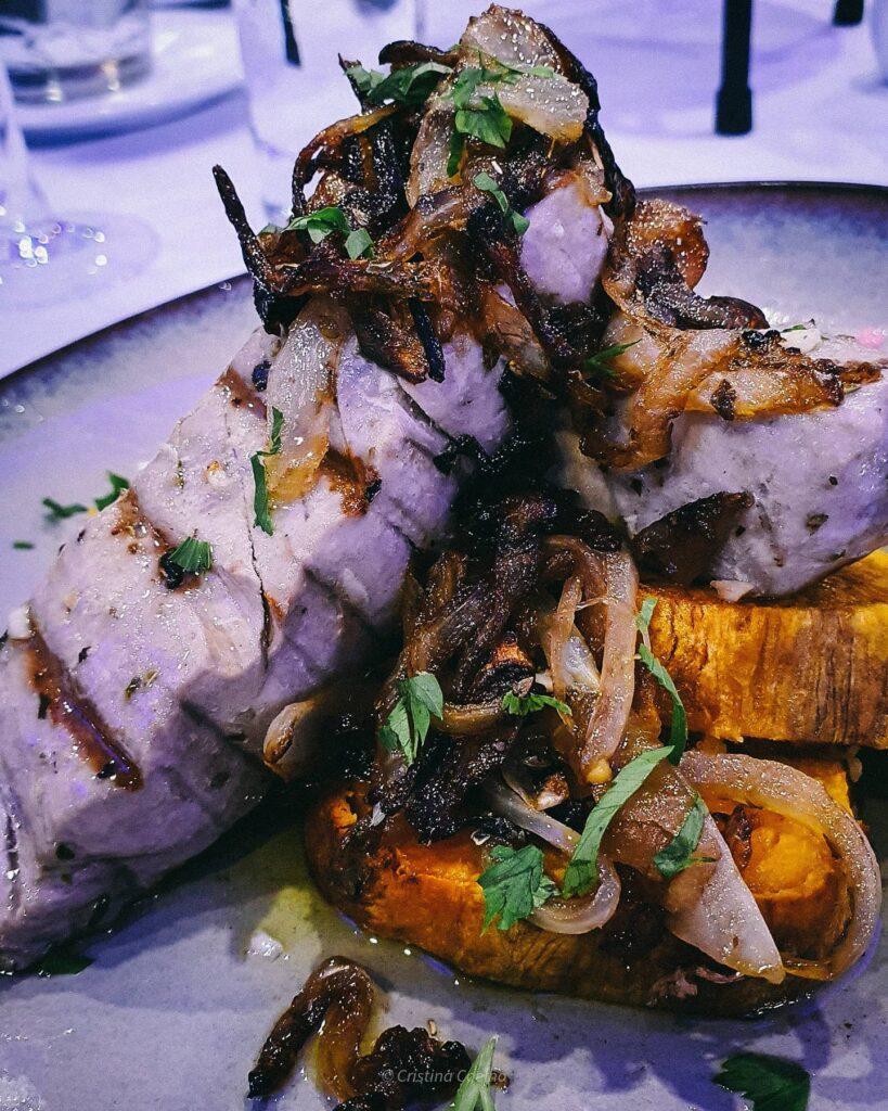 Naco de atum com legumes e batata doce. Simplesmente a não perder... no PXO